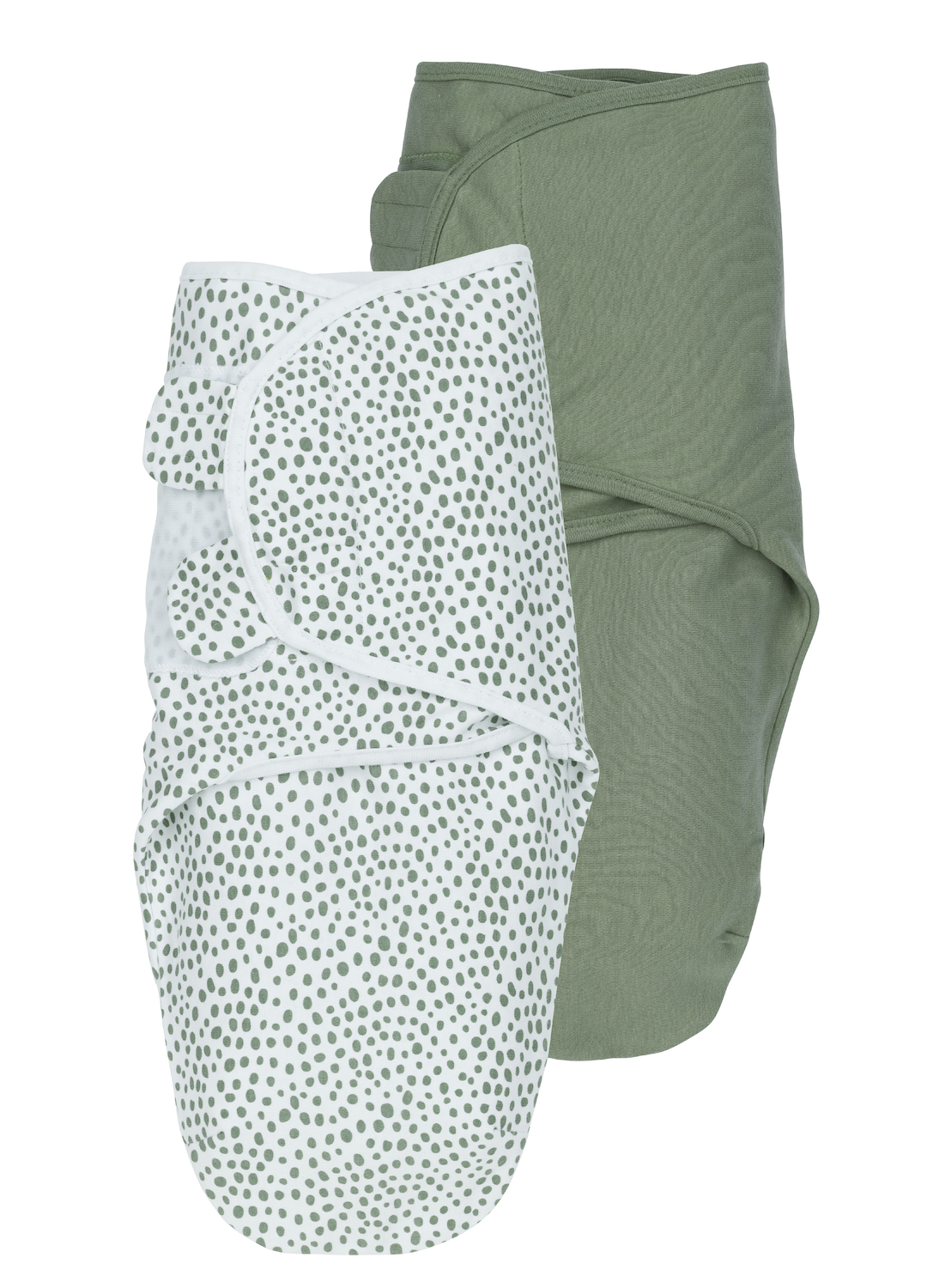 SwaddleMeyco 2-Pack Cheetah/Uni - Forest Green - 0-3 Maand