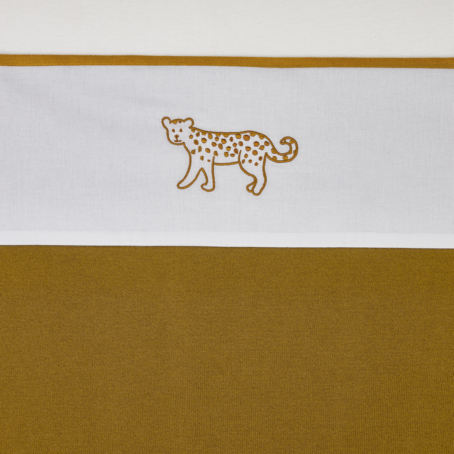 Ledikantlaken Cheetah Animal - Honey Gold - 100x150cm