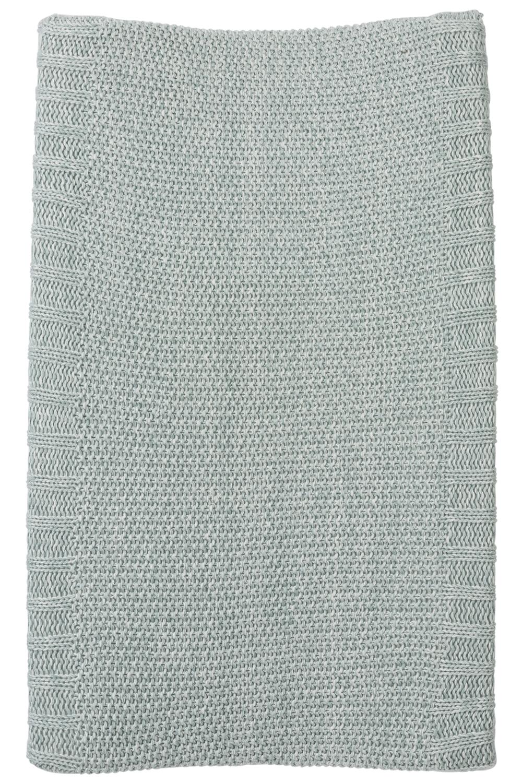 Aankleedkussenhoes Relief Mixed - Stone Green - 50x70cm